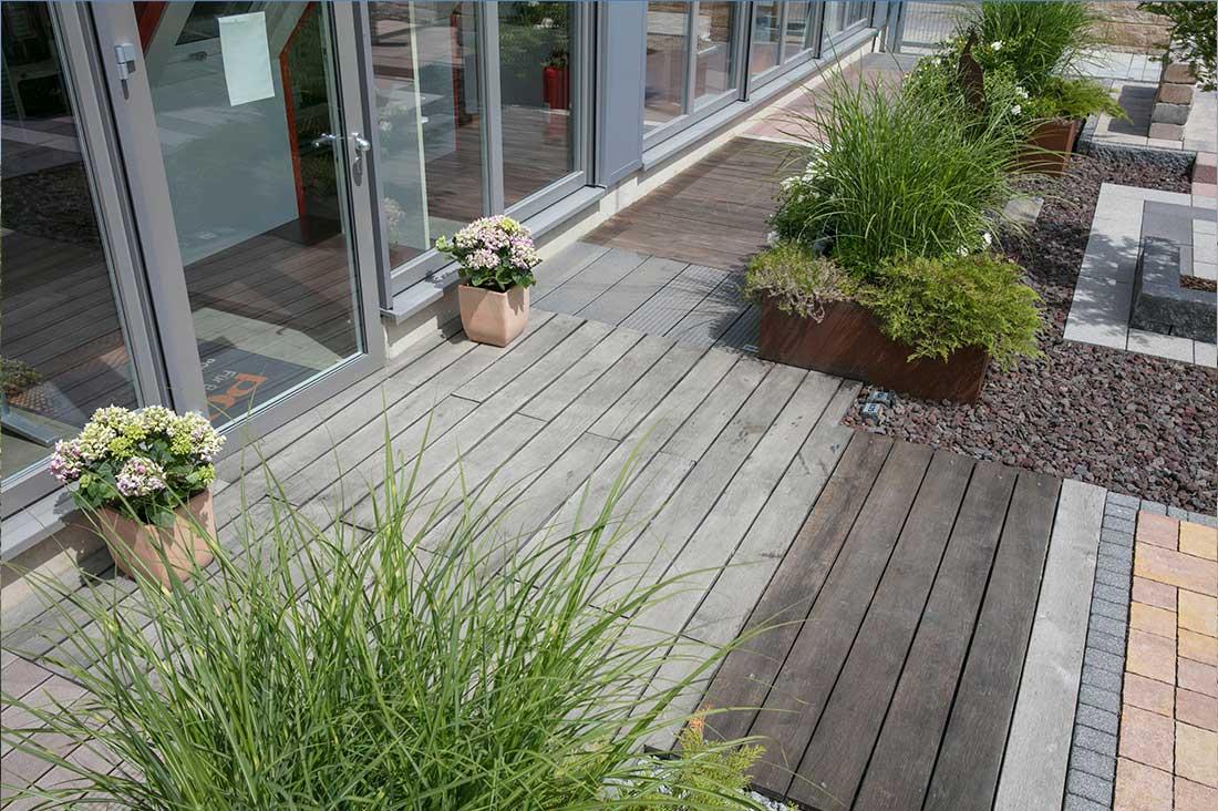 lieblein - baustoffe-fachmarkt | musterschau terrassen, wege & garten